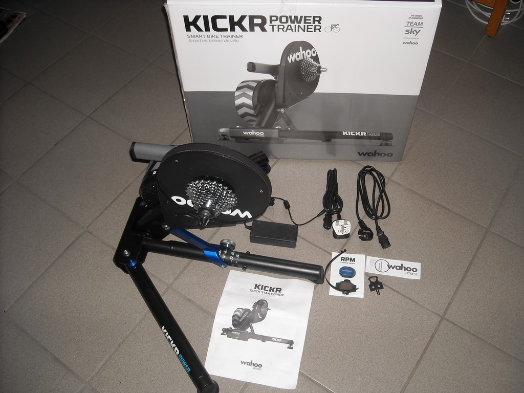Home trainer connecté Wahoo KICKR