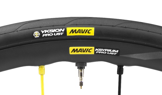 Pneu Mavic tubeless Road UST