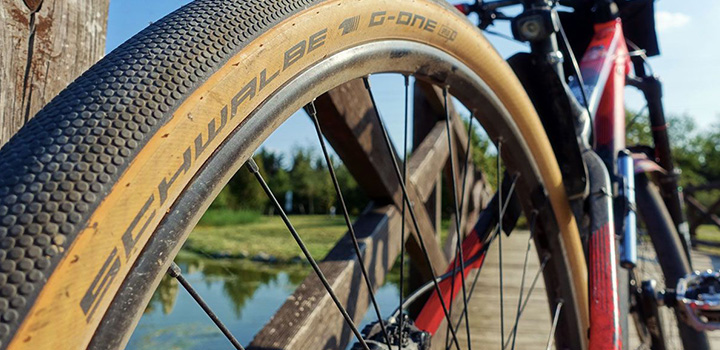 Test des pneus vélo Schwalbe G-One Speed