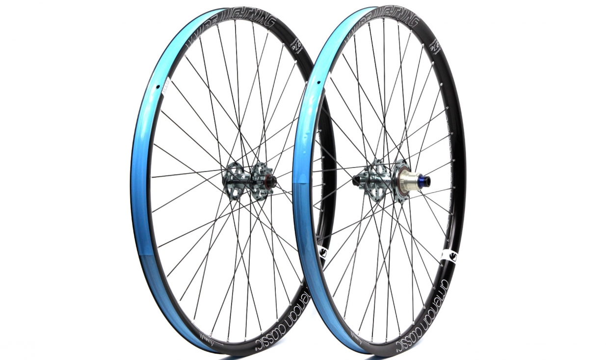 paire de roues american classic wide lightning 2016
