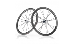 Pair of American Classic Carbon 40 2016 Wheels - Carbon - Tubetype
