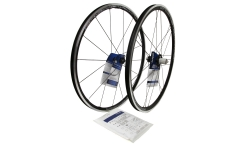 Pair of Campagnolo Zonda C17 Wheels - Aluminium - Tubetype