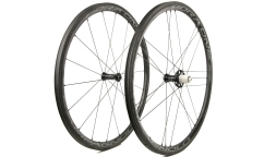 Pair of Campagnolo Bora One 35 WH18 AC3 Wheels - Carbon - Tubular