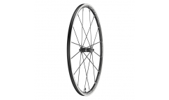 Campagnolo Shamal Ultra Dark Label Front Wheel - Aluminium - Tubetype
