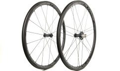 Pair of Campagnolo Bora One 35 WH18 AC3 Wheels - Carbon - Tubetype