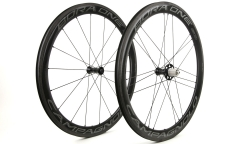 Pair of Campagnolo Bora One 50 2018 Wheels - Carbon - Tubetype