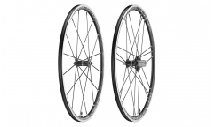 Pair of Campagnolo Shamal Ultra Dark Label Wheels - Aluminium - Tubetype