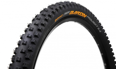 Pneu-Continental-Der-Baron-Projekt-2018---Black-Chili---Protection-Apex---Tubeless-Ready- jante