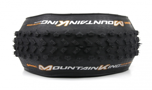 Pneu Continental Mountain King 2018 Black Chili - Protection - Tubeless Ready assiette