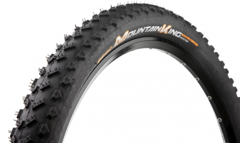 Pneu Continental Mountain King 2018 Black Chili - Protection - Tubeless Ready jante
