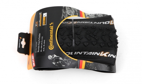Pneu Continental Mountain King 2018 Black Chili - Protection - Tubeless Ready pack