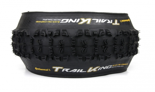 Pneu Continental Trail King 2018 - Black Chili - Protection Apex - Tubeless Ready assiette