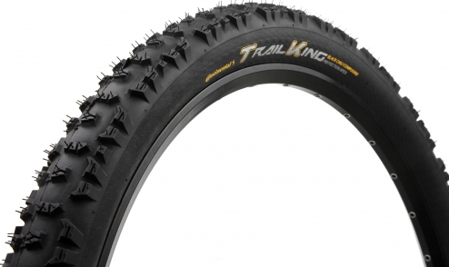 Pneu Continental Trail King 2018 - Black Chili - Protection Apex - Tubeless Ready jante