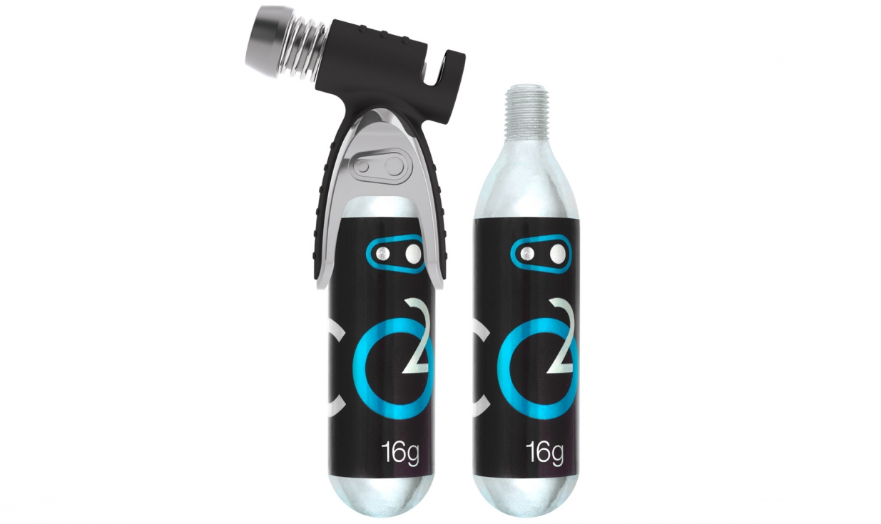 Crank Brothers CO2 Sterling 6 Cartridges 16g Threaded