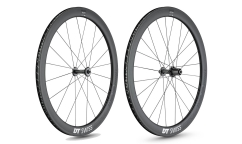 Pair of DT Swiss ARC 1100 Dicut 48 Wheels - Carbon - Tubeless Ready