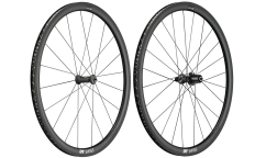 Roues Vélo Route Carbone DT Swiss PRC 1400 Spline 35 - Carbone - Tubeless Ready