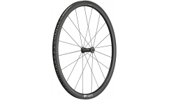 Roue Avant Vélo Route Carbone DT Swiss PRC 1400 Spline 35 - Carbone - Tubeless Ready