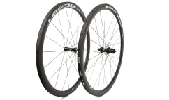 Pair of DT Swiss RC 38 Spline Limited Edition Wheels - Carbon - Tubular