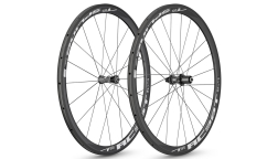 Paire de Roues DT Swiss RC38 Spline 2016 - Carbone - à Boyau