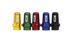 Duke Anodized Aluminium Valve Caps (a pair)