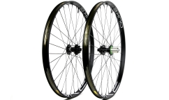 Pair of Duke Fury Star HD / Hope Pro 4 / CX Ray Wheels - Aluminium - Tubeless Ready