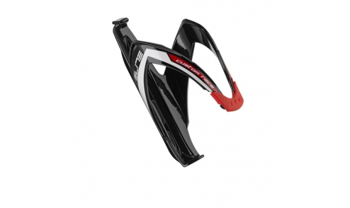 Porte-Bidon Elite Custom Race Noir/Rouge
