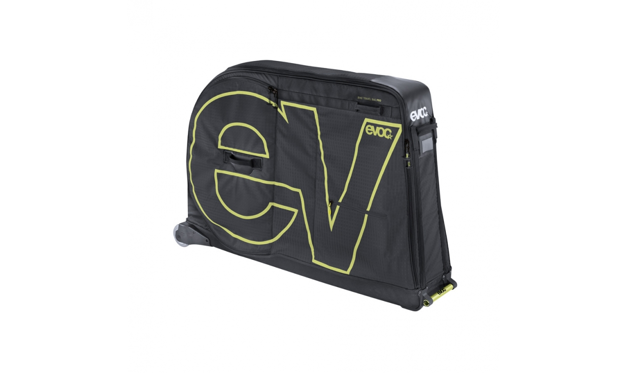 Evoc bike travel bag pro 280l pneus vtt pneus v lo for Housse transport velo
