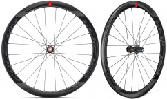 Roues Vélo Route Carbone Fulcrum Wind 40DB - Frein à disque - Carbone - Tubeless Ready