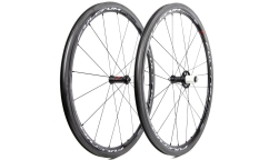 Pair of Fulcrum Racing Quattro Carbon 2017 Wheels - Carbon - Tubetype
