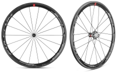 Paire de Roues Fulcrum Speed 40C C17 - Carbone - à Pneus