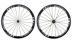 Pair of Graphit'Sport 38 Wheels - Carbon - Tubular