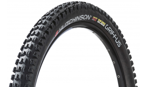 Pneu Hutchinson Griffus Racing Lab 2.50 Race Riposte Gravity Hardskin Tubeless Ready beige