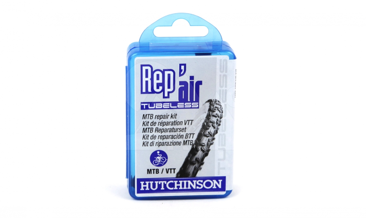 Kit de r paration tubeless hutchinson rep 39 air tubeless vtt - Kit de reparation baignoire acrylique ...