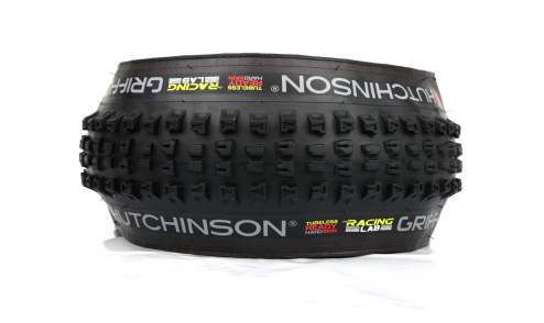 Pneu Hutchinson Griffus Racing Lab 2.50 - Race Riposte Gravity - Hardskin - Tubeless Ready profil