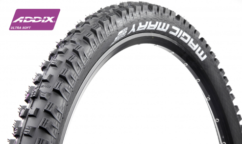 Pneu Schwalbe Magic Mary 2021 - Addix Ultra Soft - Super Gravity - Tubeless Easy - JANTE