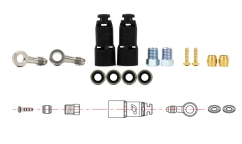 Jagwire Mountain Pro Quick Fit Connection Kit - For Formula R1 / RX / Mega