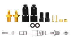 Jagwire Mountain Pro Quick Fit Connection Kit - For Shimano XTR/XT/SLX First Generation