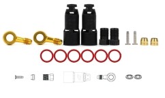 Jagwire Mountain Pro Quick Fit Connection Kit - For Shimano XTR/XT/SLX New Generation