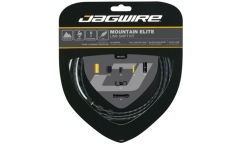 Jagwire Mountain Elite Link Shift Kit - Teflon Cables - Aluminium Links Housing