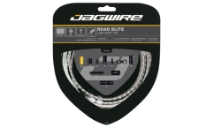 Jagwire Road Elite Link Shift Kit - Teflon Cables - Aluminium Links Housing