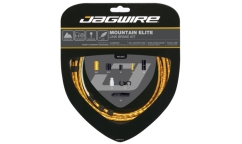 Jagwire Mountain Elite Link Brake Kit - Polished Cables - Aluminum Links Housing