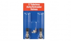 Valves Schrader Tubeless Joe's No-Flats (x2)