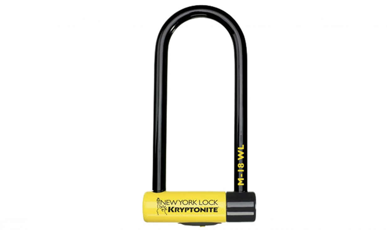 kryptonite new york m18 wl u lock security rating 10 10 pneus vtt pneus. Black Bedroom Furniture Sets. Home Design Ideas