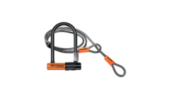 Kryptonite Evolution Mini 7 U-lock + 4 inches Flex Cable - Security rating: 7/10