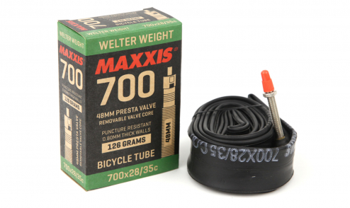 Chambre-à-air Maxxis Welter Weight 0.8mm (48 mm, Presta, 700 x 28-35) pack