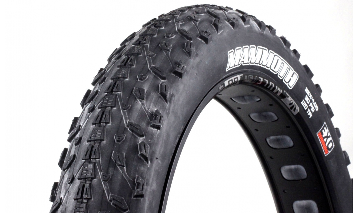 pneu fat bike maxxis mammoth exo protection dual 62a 60a pneus vtt pneus v lo. Black Bedroom Furniture Sets. Home Design Ideas