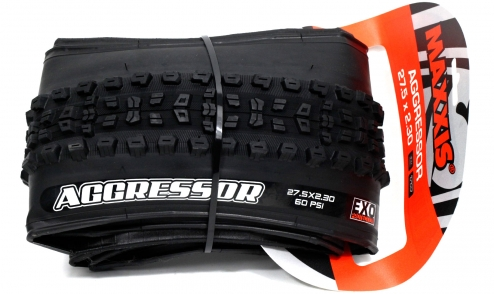 Pneu Maxxis Aggressor - EXO Protection - Dual 62a/60a - Tubeless Ready - TB91009100