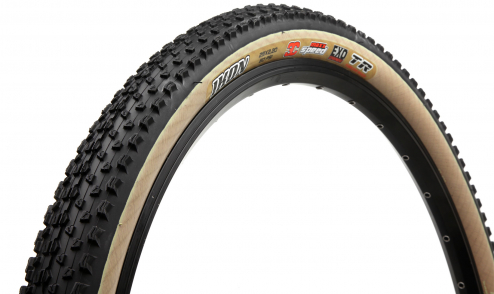 Pneu Maxxis Ikon - EXO Protection - 3C Maxx Speed - Tubeless Ready noir beige jante