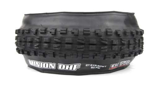 Pneu Maxxis Minion DHF Wide Trail - EXO Protection - Dual 62a/60a - Tubeless Ready assiette