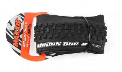 Pneu Maxxis Minion DHR II Wide Trail - EXO Protection - Dual 62a 60a - Tubeless Ready pack